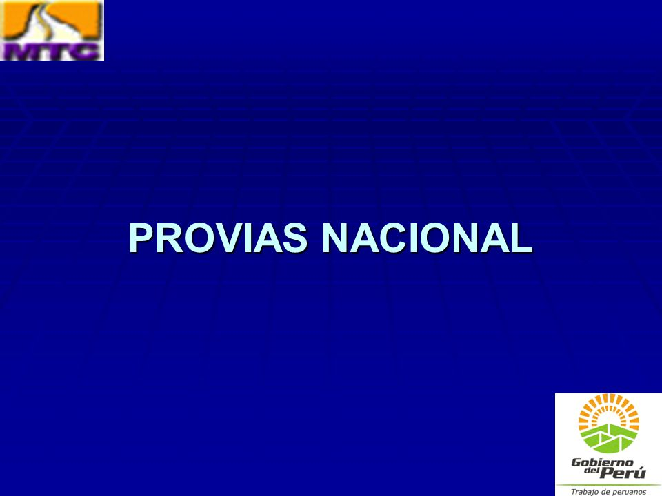 PROVIAS NACIONAL
