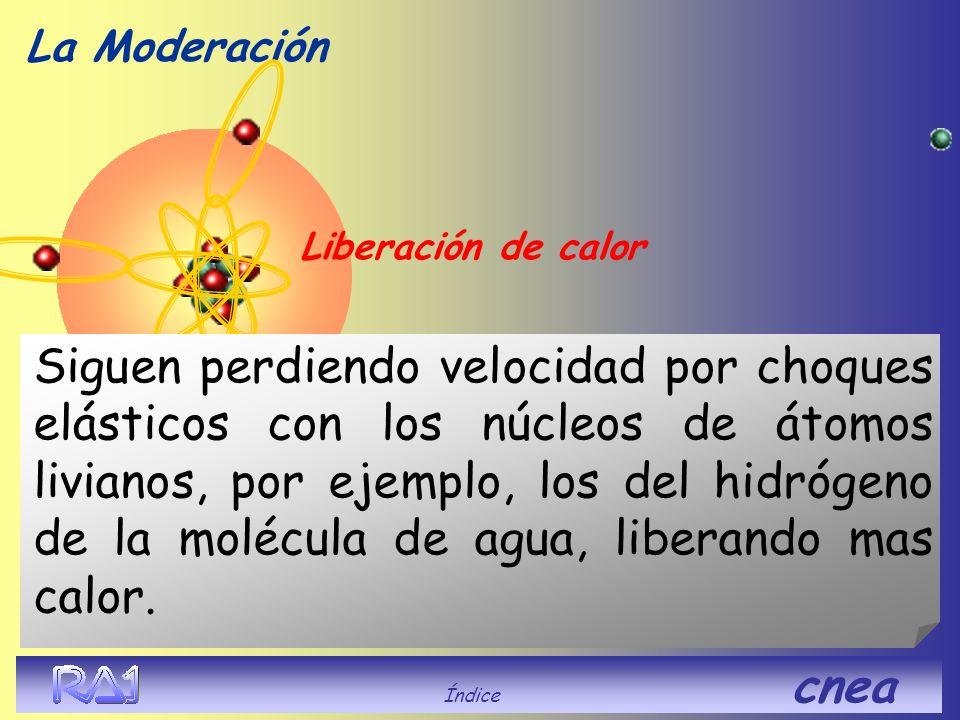 La Moderación Liberación de calor.