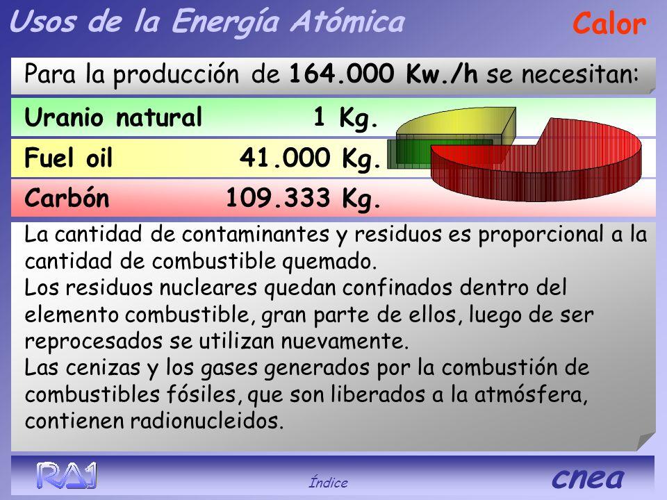 Usos de la Energía Atómica Calor