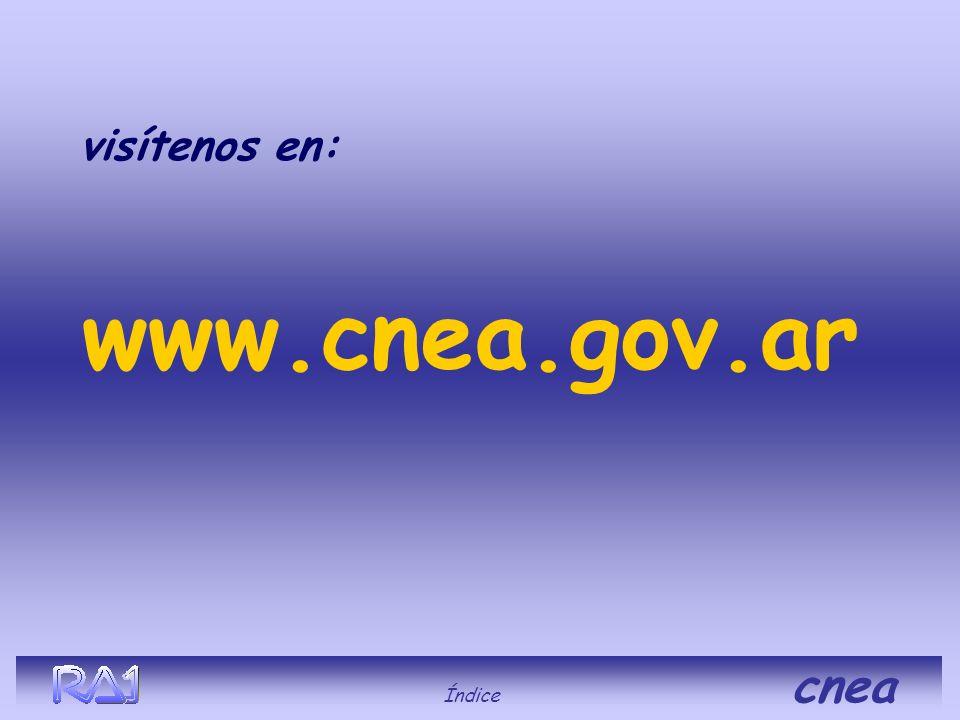 visítenos en: www.cnea.gov.ar Índice cnea