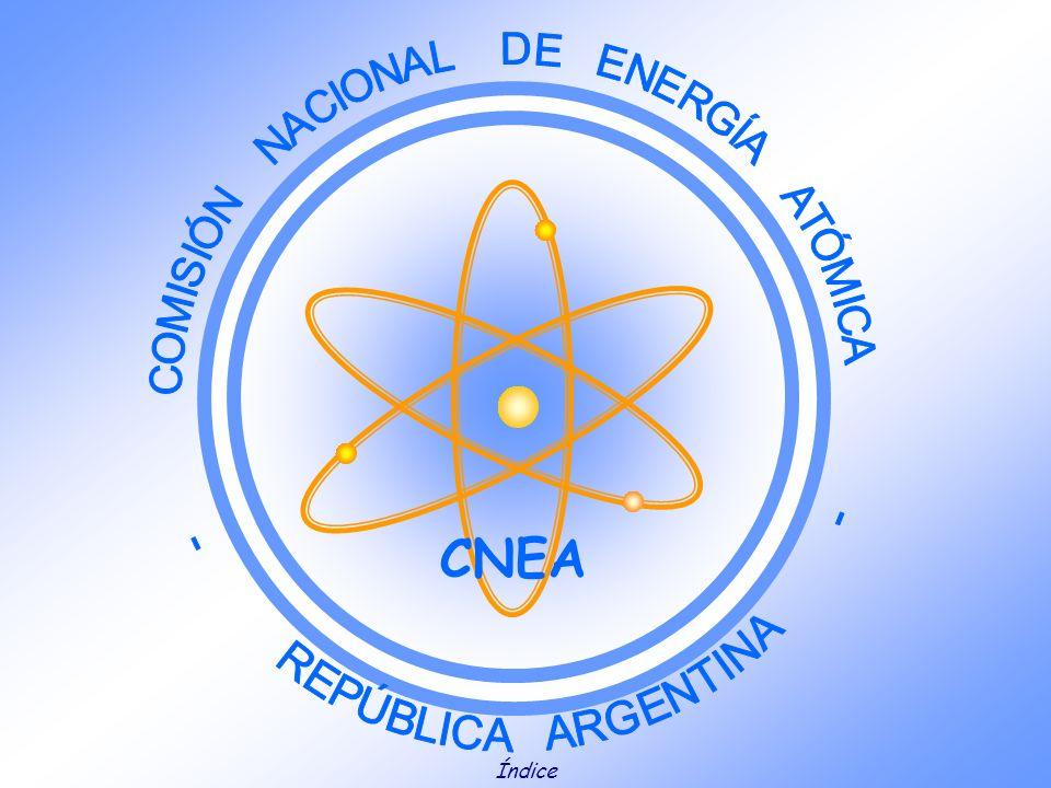 CNEA Índice COMISIÓN NACIONAL DE ENERGÍA ATÓMICA