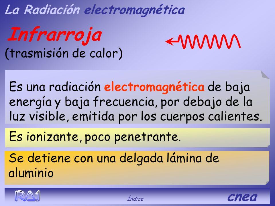 Infrarroja La Radiación electromagnética (trasmisión de calor)