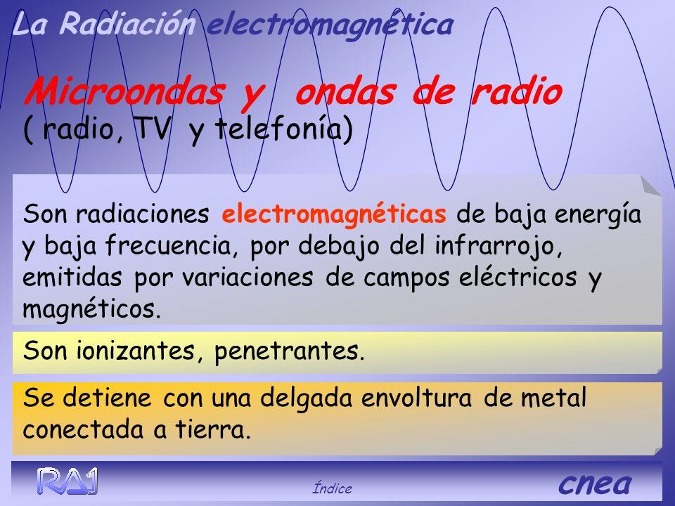 Microondas y ondas de radio