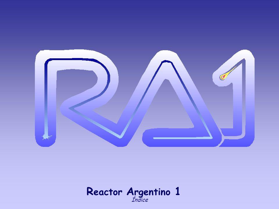 Reactor Argentino 1 Índice