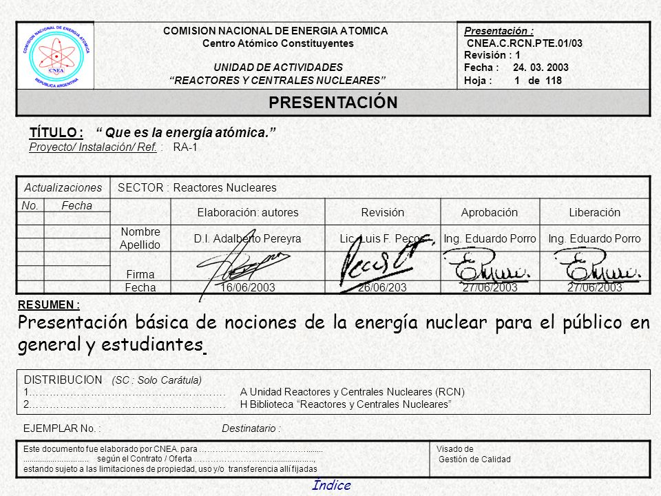 REACTORES Y CENTRALES NUCLEARES