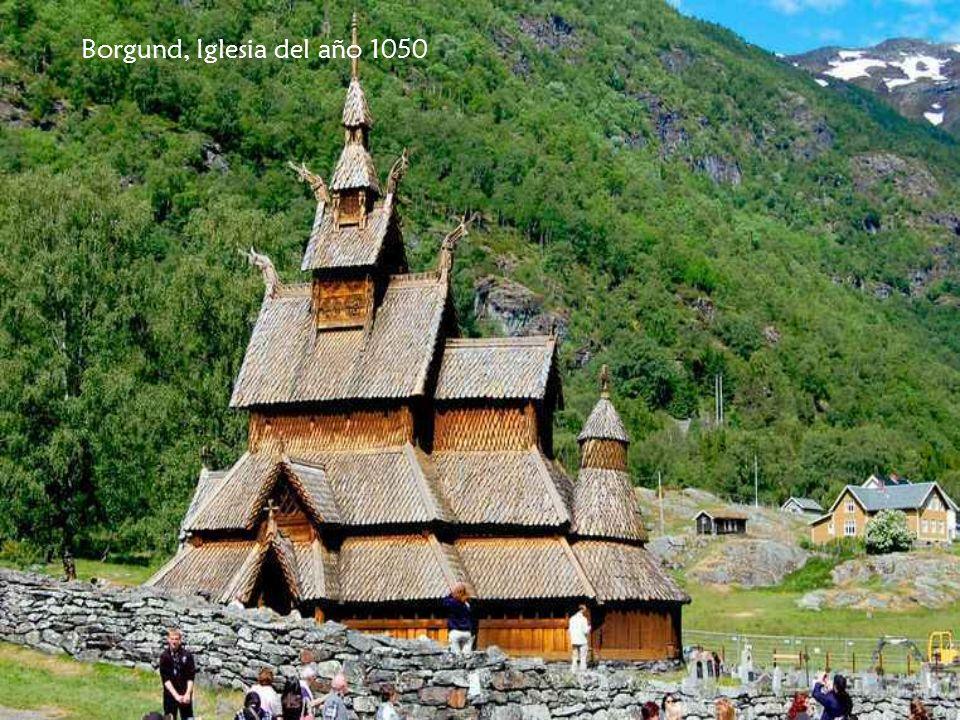 Borgund, Iglesia del año 1050