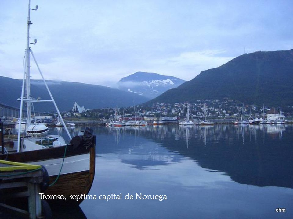 Tromso, septima capital de Noruega