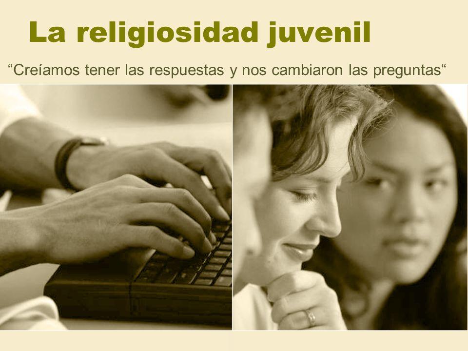 La religiosidad juvenil