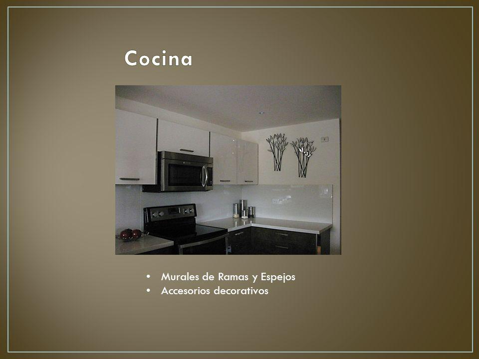 Cocina Murales de Ramas y Espejos Accesorios decorativos
