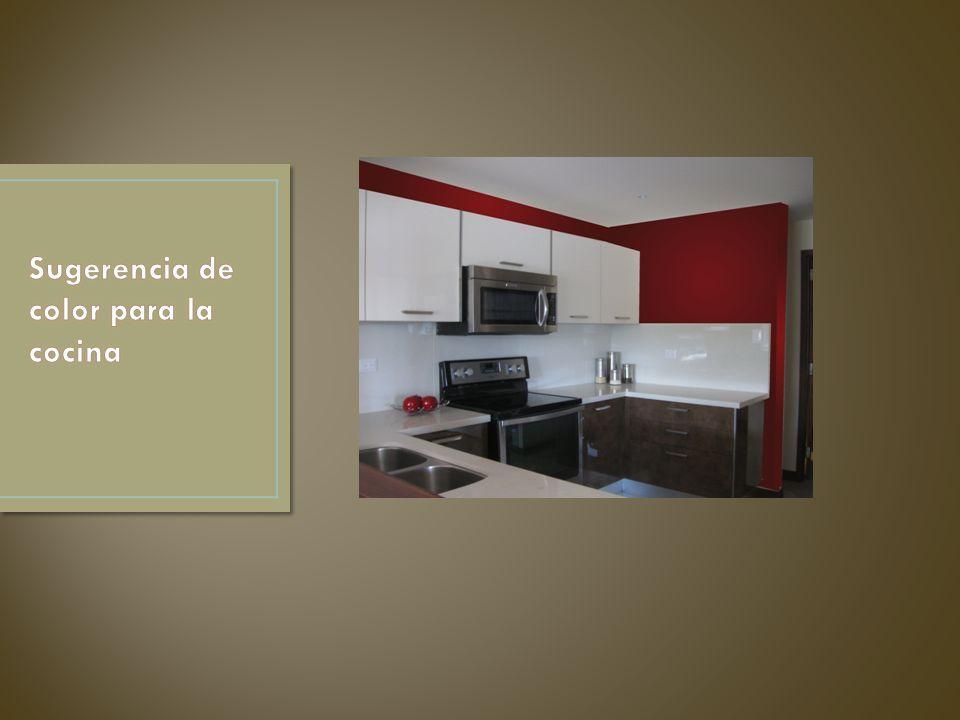 Sugerencia de color para la cocina