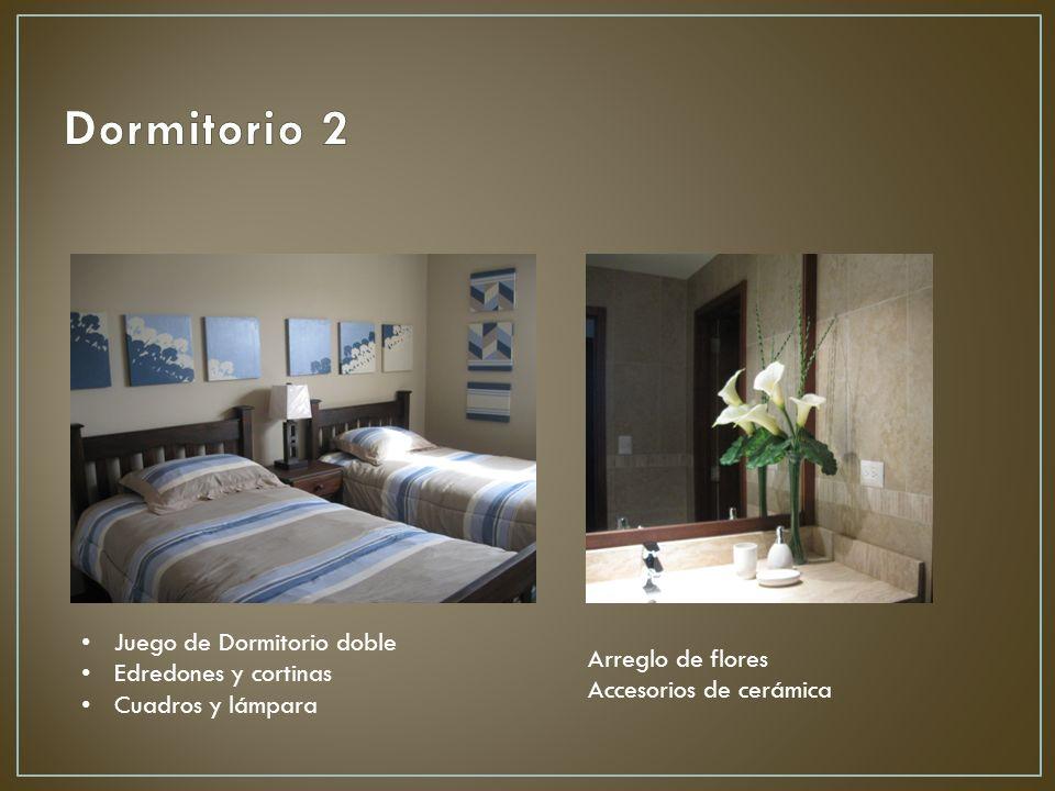 Dormitorio 2 Juego de Dormitorio doble Edredones y cortinas