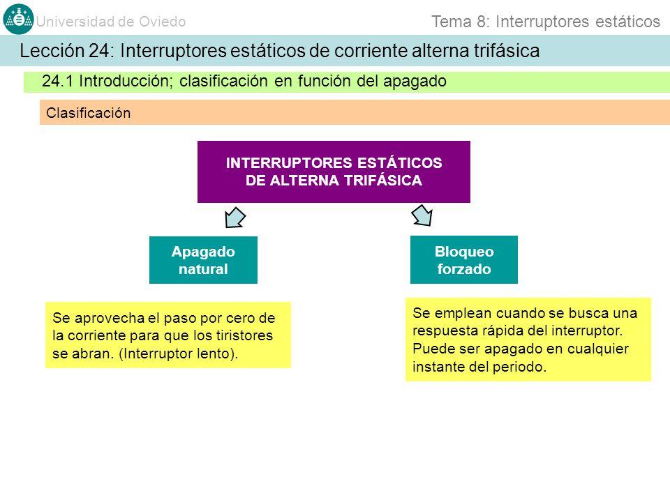 INTERRUPTORES ESTÁTICOS DE ALTERNA TRIFÁSICA