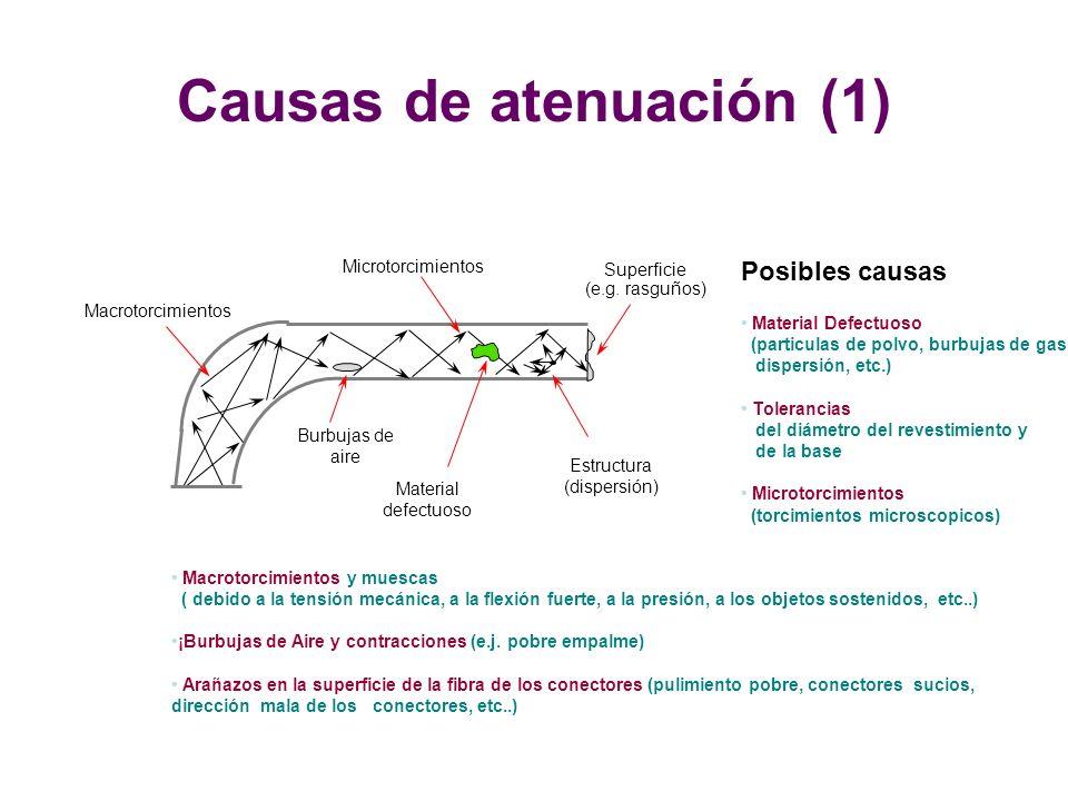 Causas de atenuación (1)
