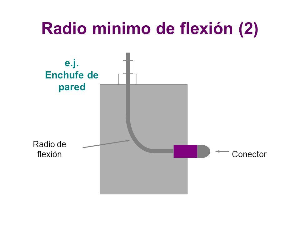 Radio minimo de flexión (2)