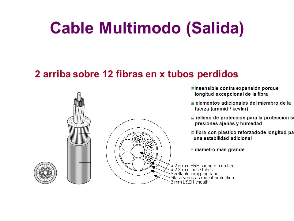Cable Multimodo (Salida)