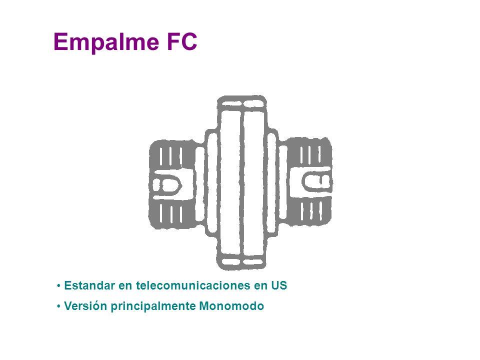 Empalme FC Estandar en telecomunicaciones en US