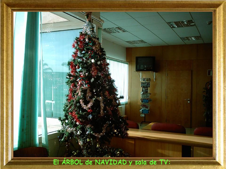 El ÁRBOL de NAVIDAD y sala de TV:
