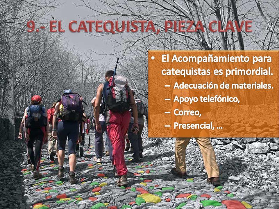 9.- EL CATEQUISTA, PIEZA CLAVE