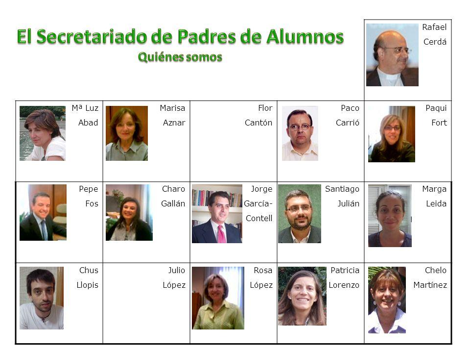 El Secretariado de Padres de Alumnos Quiénes somos