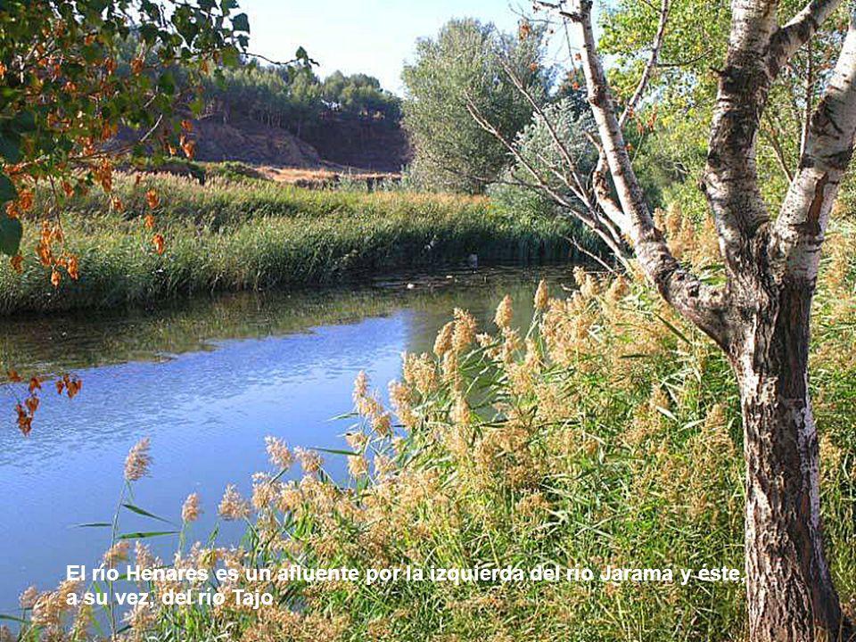 El río Henares es un afluente por la izquierda del río Jarama y éste, a su vez, del río Tajo
