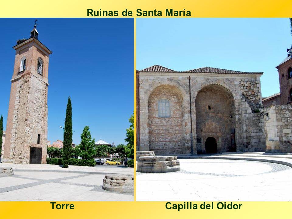 Ruinas de Santa María Torre Capilla del Oidor