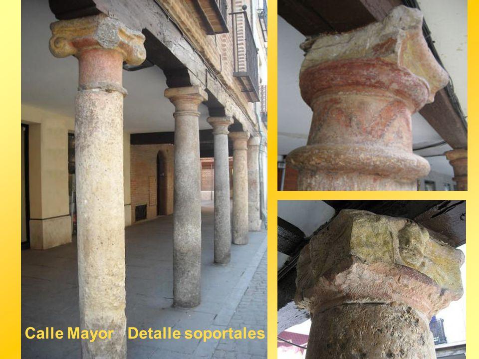 Calle Mayor Detalle soportales
