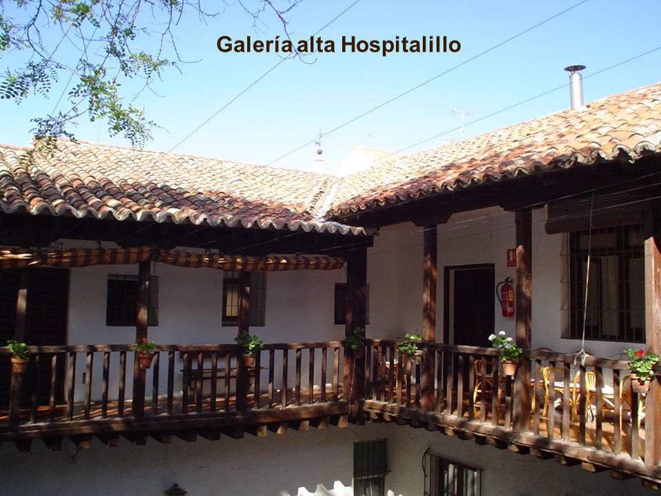 Galería alta Hospitalillo