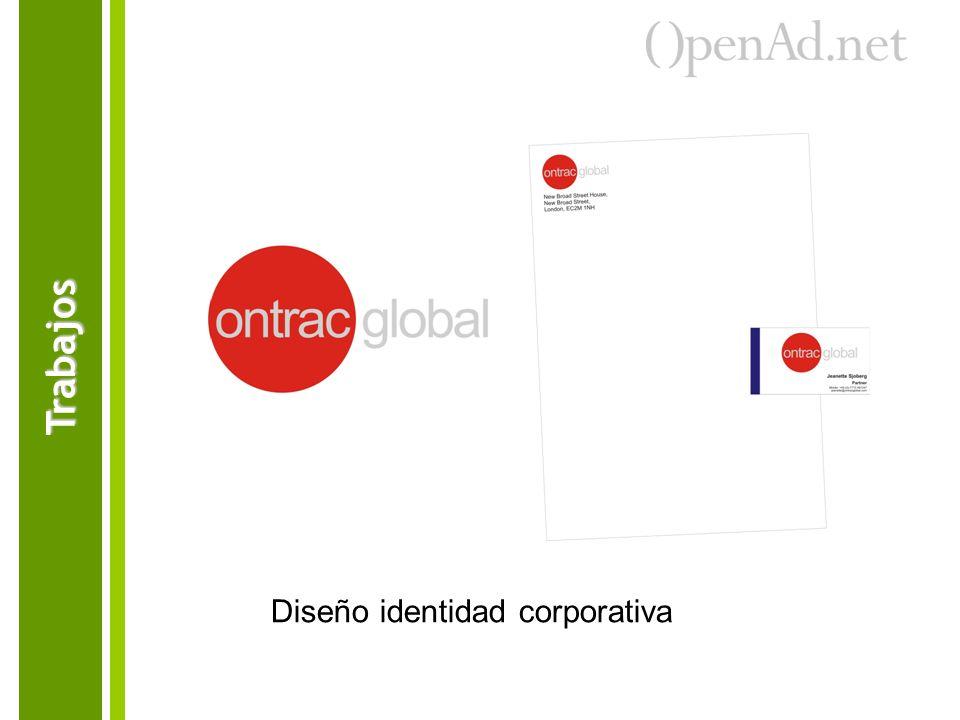 Trabajos Diseño identidad corporativa