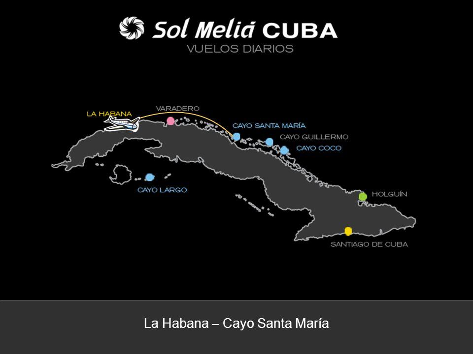 La Habana – Cayo Santa María