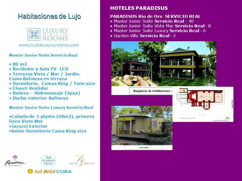 Habitaciones de Lujo HOTELES PARADISUS www/cubaluxuryrooms.com