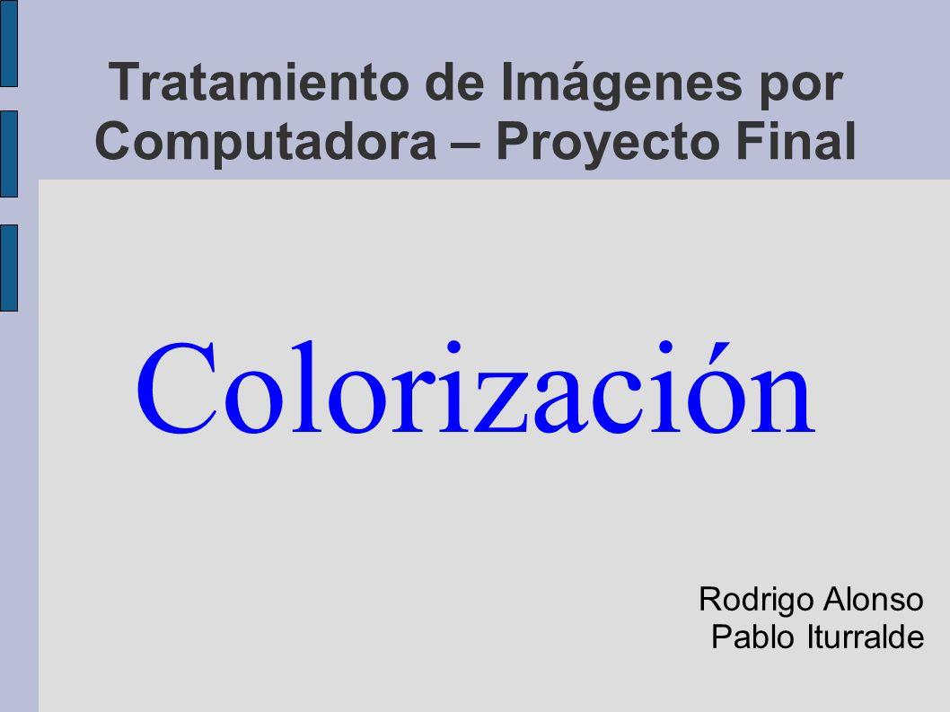 Tratamiento de Imágenes por Computadora – Proyecto Final