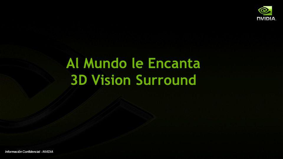 Al Mundo le Encanta 3D Vision Surround