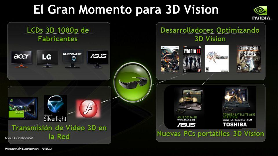 El Gran Momento para 3D Vision