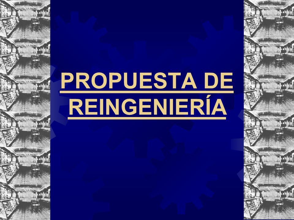 PROPUESTA DE REINGENIERÍA