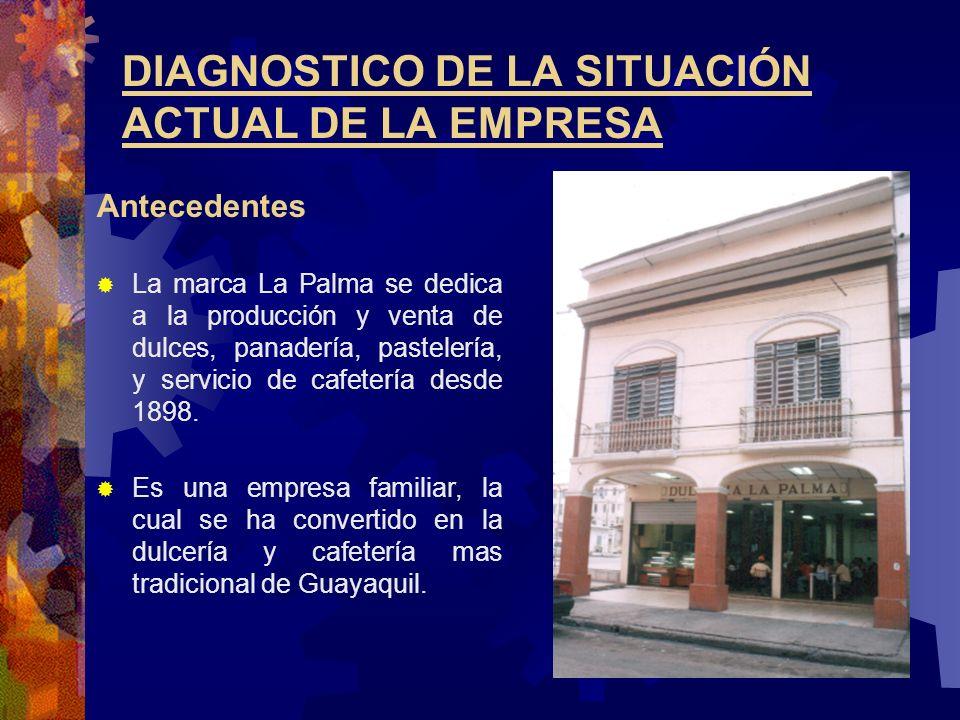 DIAGNOSTICO DE LA SITUACIÓN ACTUAL DE LA EMPRESA