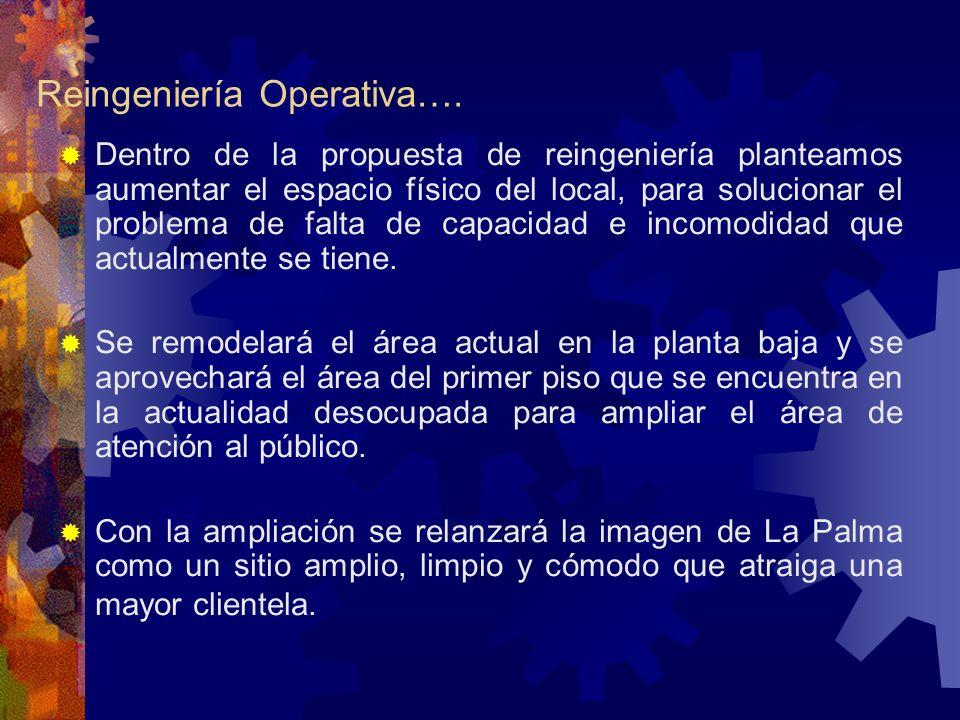 Reingeniería Operativa….