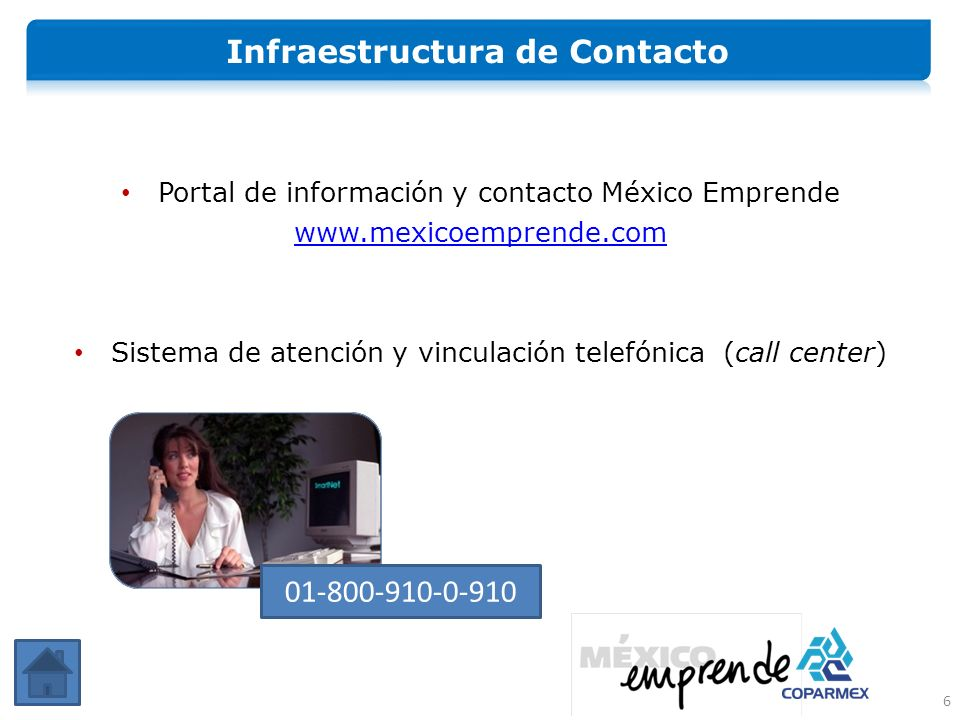 Infraestructura de Contacto