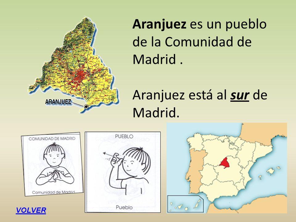 Aranjuez es un pueblo de la Comunidad de Madrid .