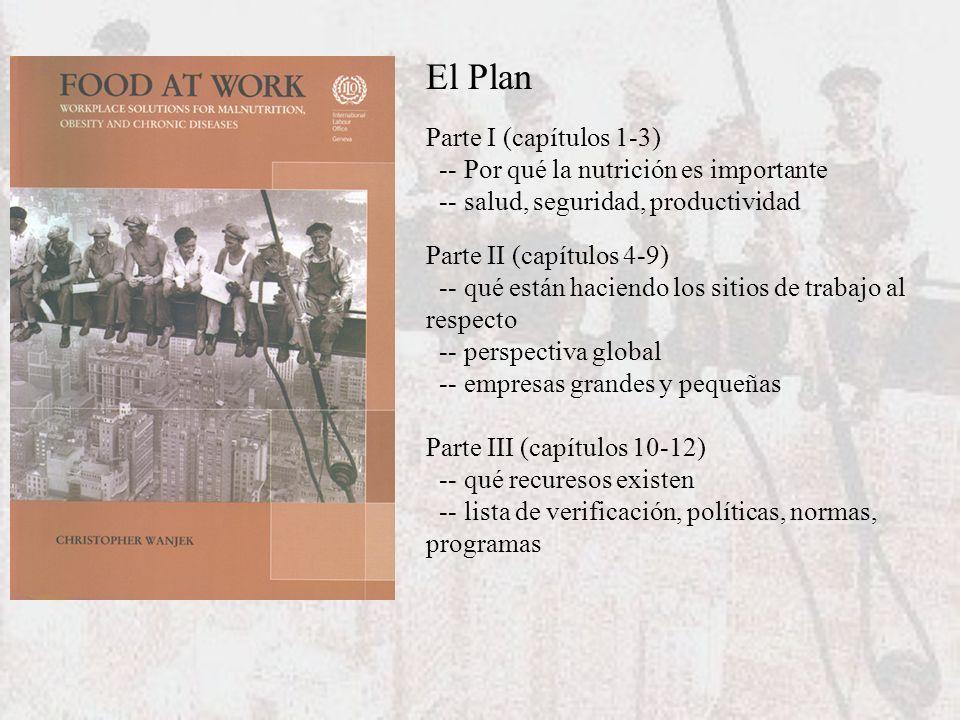 El Plan Parte I (capítulos 1-3) -- Por qué la nutrición es importante