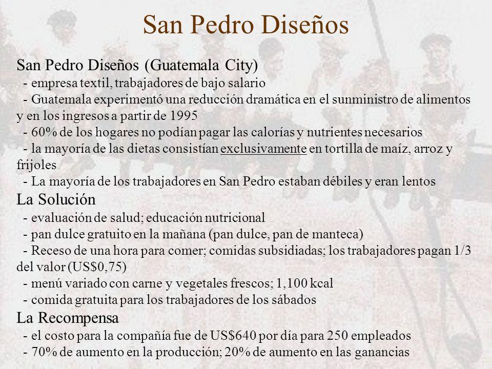 San Pedro Diseños San Pedro Diseños (Guatemala City) La Solución