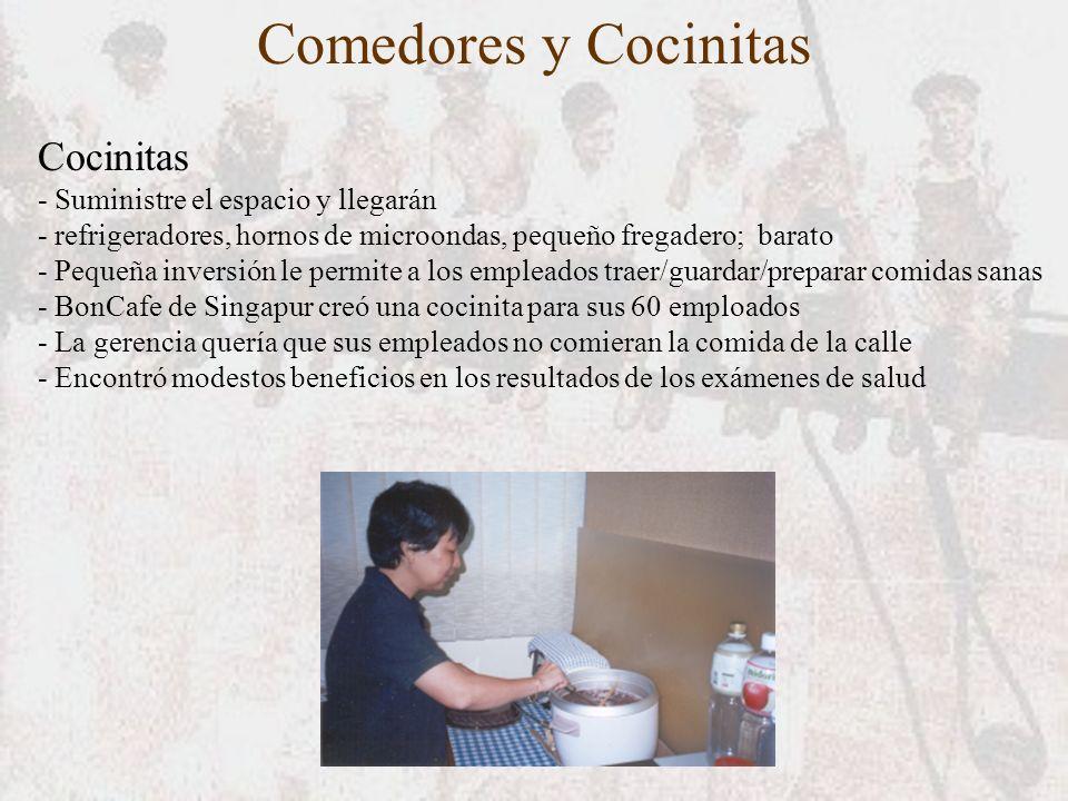 Comedores y Cocinitas Cocinitas - Suministre el espacio y llegarán