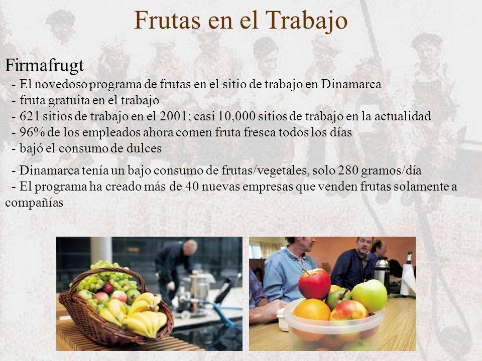 Frutas en el Trabajo Firmafrugt