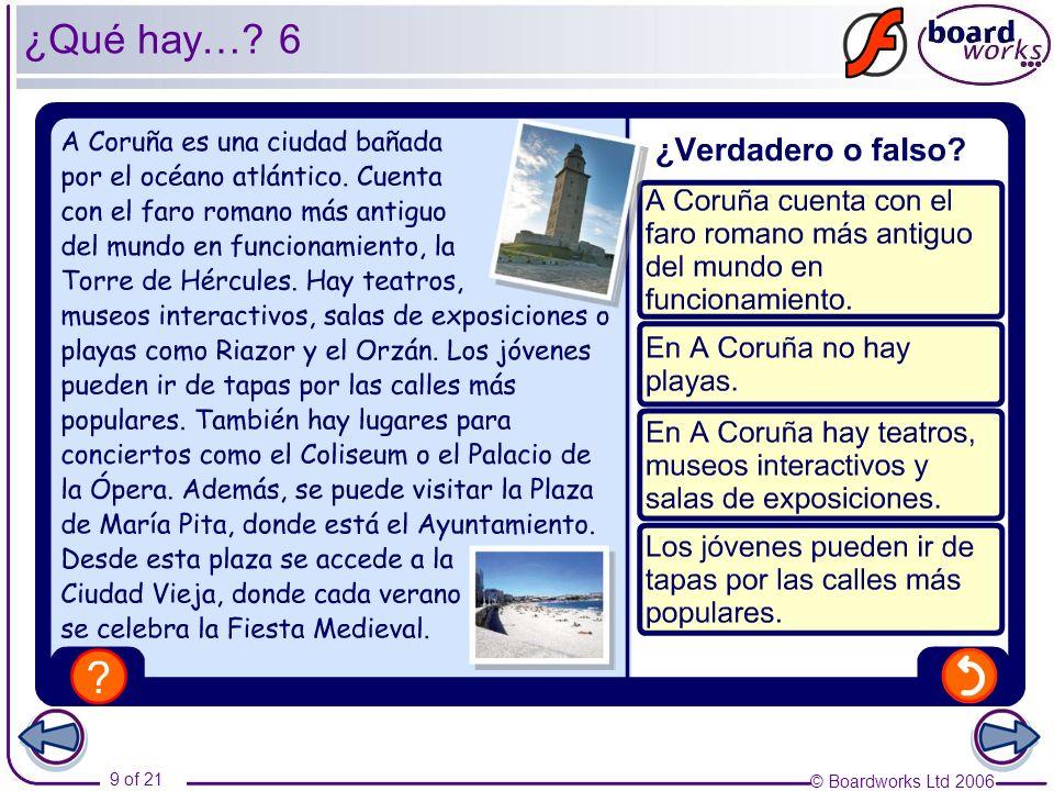 ¿Qué hay… 6 Photo credits: