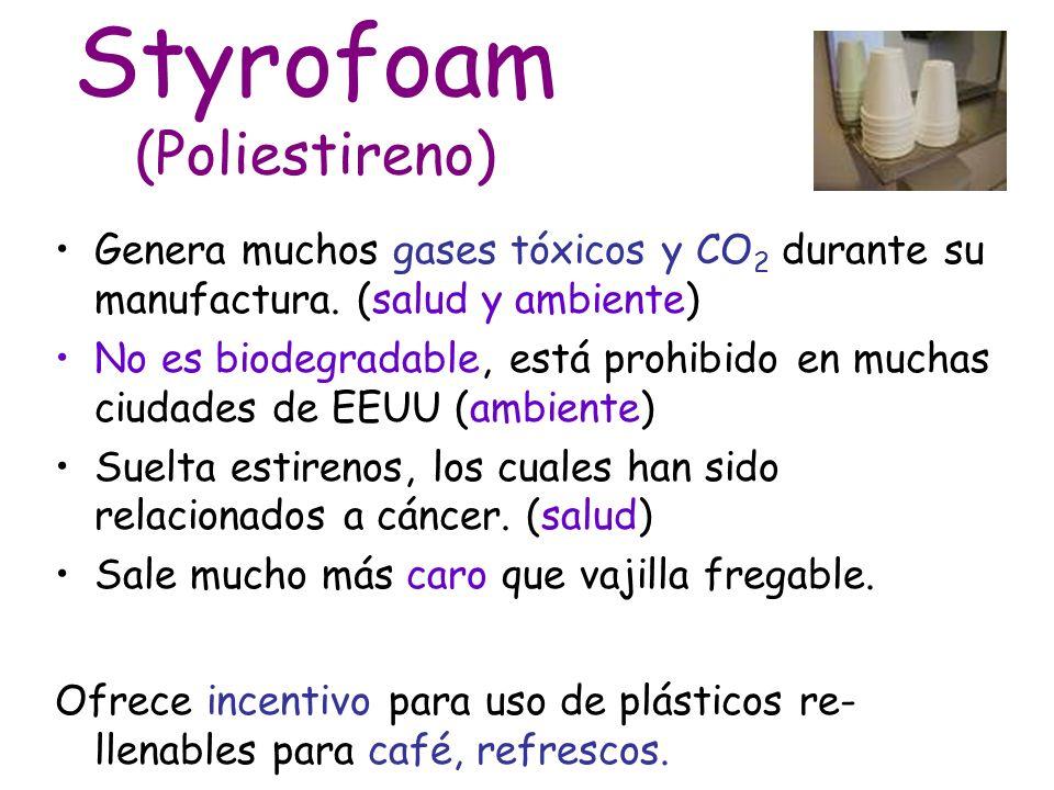 Styrofoam (Poliestireno)