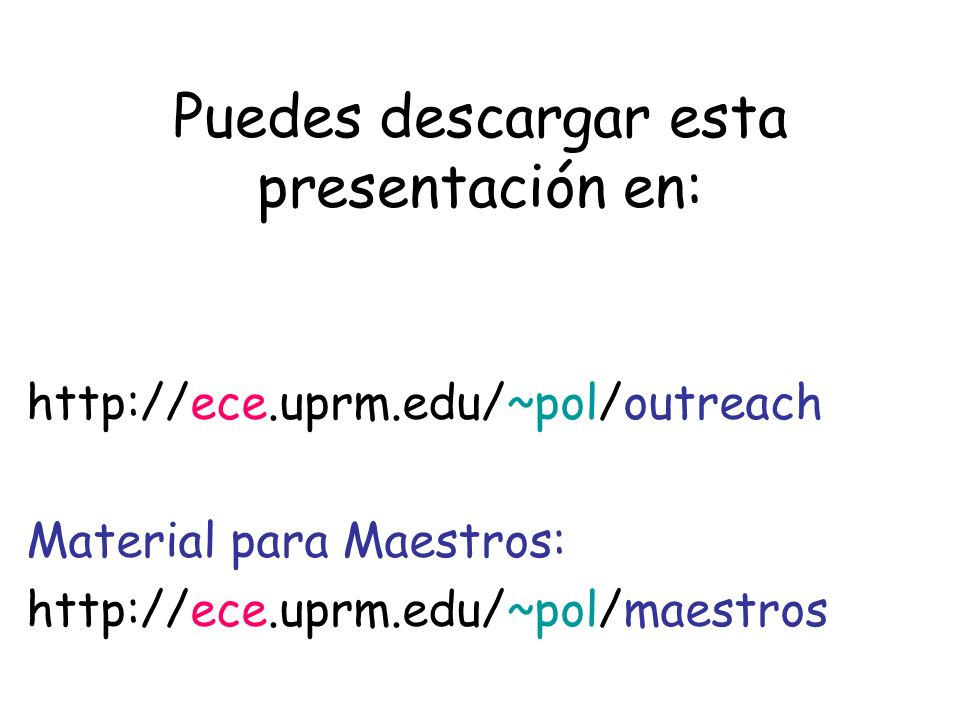 Puedes descargar esta presentación en: