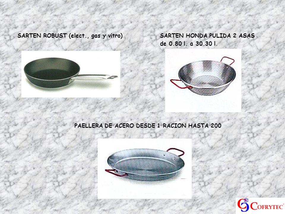 SARTEN ROBUST (elect., gas y vitro) SARTEN HONDA PULIDA 2 ASAS