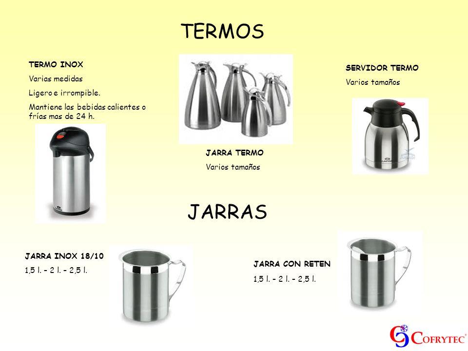 TERMOS JARRAS TERMO INOX Varias medidas SERVIDOR TERMO Varios tamaños