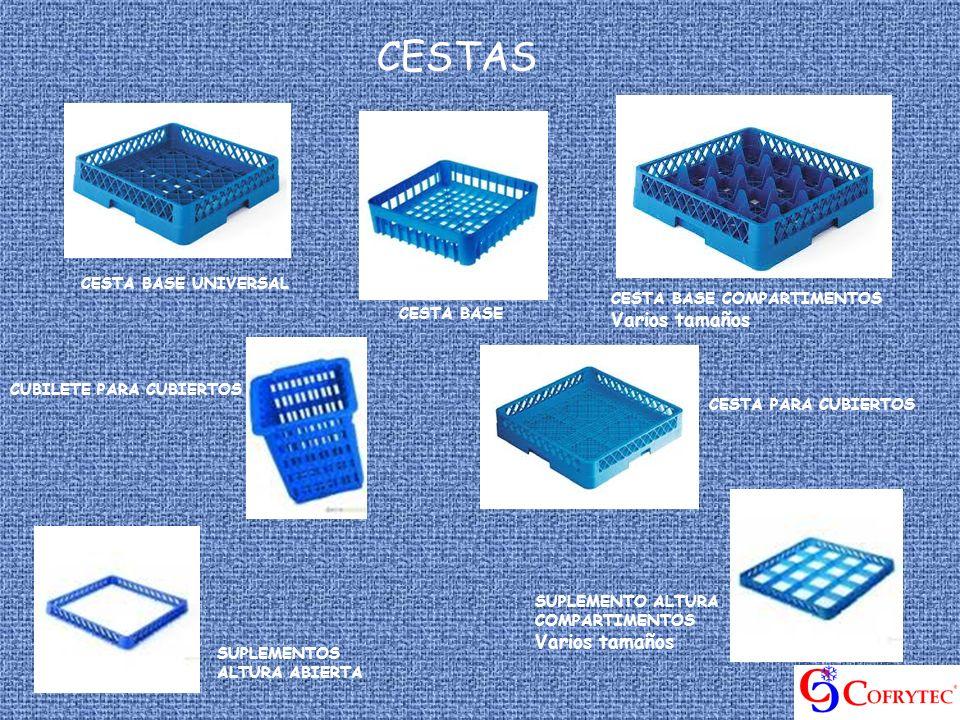 CESTAS CESTA BASE UNIVERSAL CESTA BASE COMPARTIMENTOS Varios tamaños