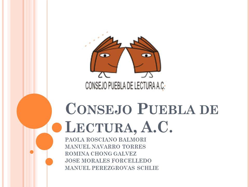 Consejo Puebla de Lectura, A.C.