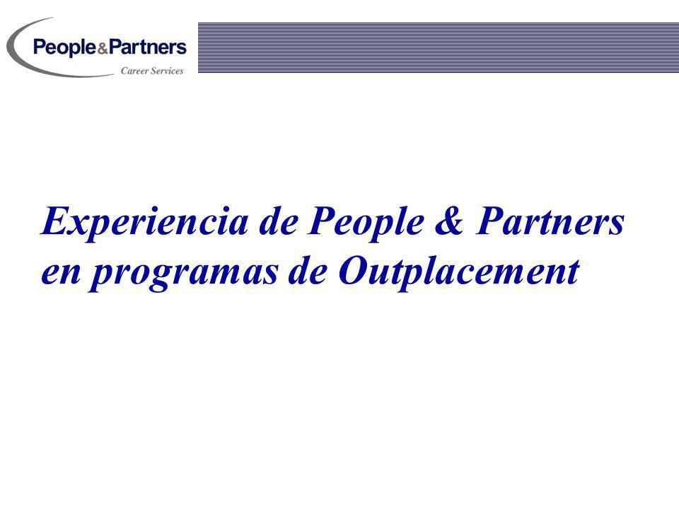 Experiencia de People & Partners en programas de Outplacement